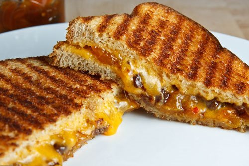Grilled Ham, Cheese, And Pickle Sandwiches Recipes — Dishmaps
